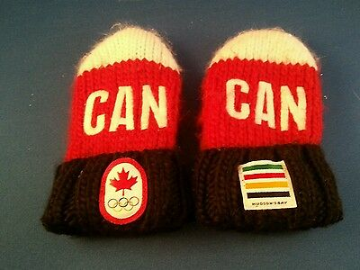 2014 Canada Olympic Mittens (toddler)