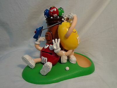 Collectible M&M  Golf  Themed Candy Dispencer
