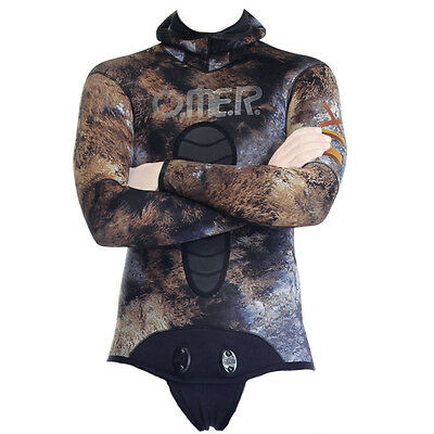 Omer Mix 3D Apnea and Spearfishing Jacket 7mm 02UK