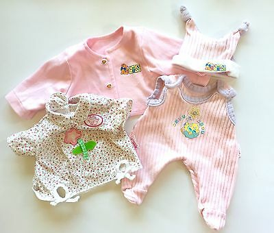Zapf Creation Chou Chou Anabell Doll lot Clothes Hat Outfit