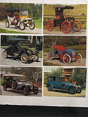 Craven Foundation Automobile Postcards -6, years1906-1912