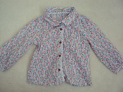 Baby Girl Flower Patterned Blouse Size 12-18 months from Next