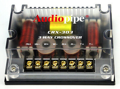 Audiopipe CRX303 300W 3 Way Passive Crossover