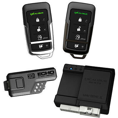 Excalibur RS3753D 900Mhz Keyless Entry & Remote Start