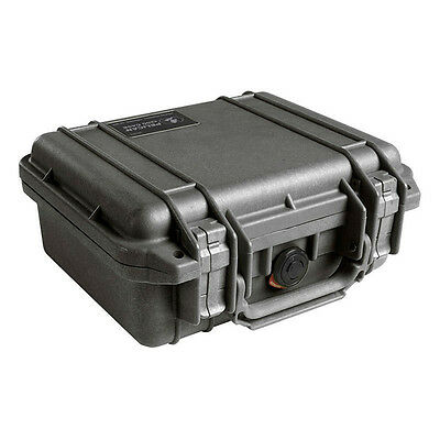Pelican Products 1200BLK Case W/Foam For Camera (Black)