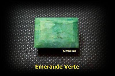 Emeraude Verte Naturelle 66,5 Carats ! Green Emerald