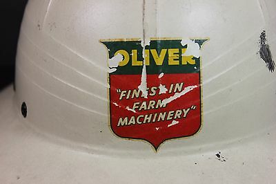 OLIVER Farm Tractor Hat ( RARE ) - Hawley Topper - 1790 St. Charles, Illinois