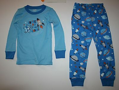 NEW Gymboree Boy Pajamas Gymmies PJs 4 5 6 7 8 10 year Out of This World Rocket