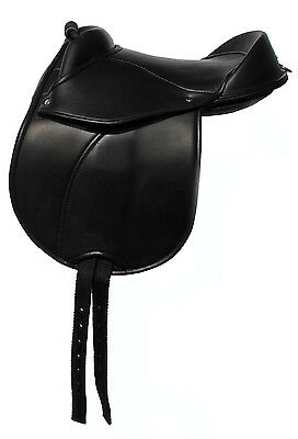 Childs Cub Saddle with Handle and adjustable Panels to fit most Pony / Shetland