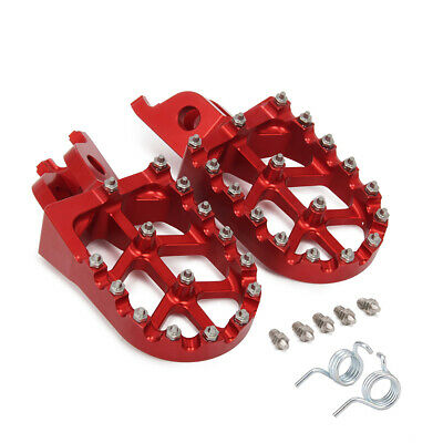 MX Wide Foot Pegs Pedals Rests For Honda CR125R CR250R CRF250R CRF250X CRF450R