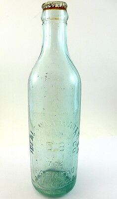 "Antique 10 oz Soda Bottle for "" Ideal Soda Water Co  D.B Papineau Montreal"