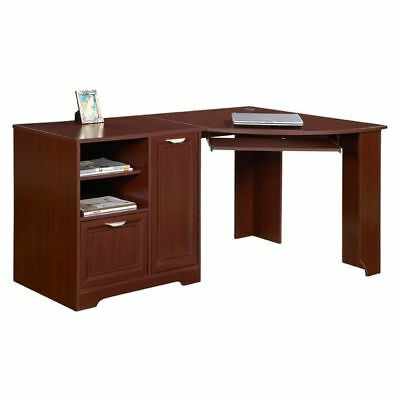 NEW Huali Esperance Corner Office Desk in Brown