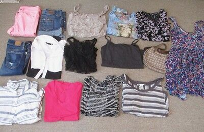 Cute and Trendy lot of Womens size 4 and Small clothing