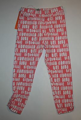 New Gymboree Pink with White Geometric Print Leggings 4 NWT Desert Dreams