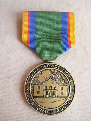U.S.Army Texas National Guard Service Medal- Full Size