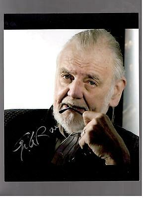 George A Romero Authentic Signed Autograph Montreal Comiccon 2014 Living Dead