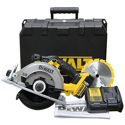 "Dewalt DCS391P1 20V MAX 6 1/2"" Cordless Circular Saw Battery and Charger Kit NEW"