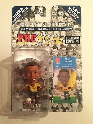 Corinthian Pro Stars Ultra Limited Platinum Edition Thierry Henry