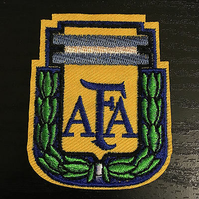 Argentina AFA Footbal Crest Iron on Badge Transfer Emroidered Patch LCFC