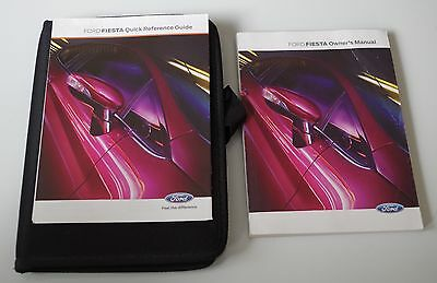 Ford Fiesta Owners Manual,Blank Service Book 2010-2014