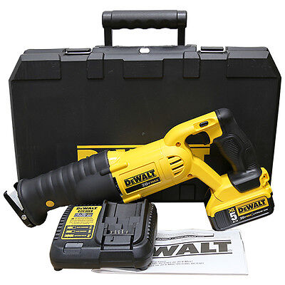 Dewalt DCS380P1 20V MAX Cordless Reciprocating Saw Battery and Charger Kit NEW!