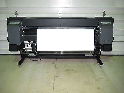 "HP DesignJet 9000s 64"" Wide Printer Plotter format graphic ink head toner iP 703"