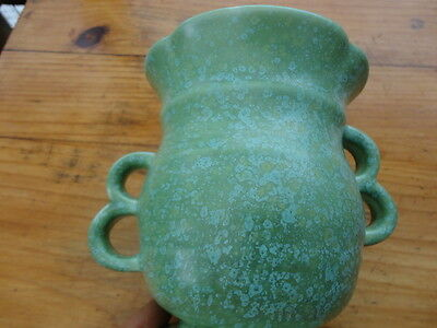 Vintage Crown Devon Art Deco Double Handled vase