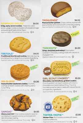 6 Boxes Mix & Match 2017 Girl Scout Cookies NEW FRESH SAME DAY SHIPPING