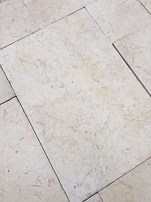 Limestone Tumbled and Brushed Tiles 600x400x12mm