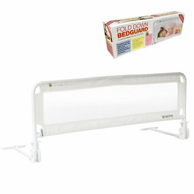 Vee Bee 102cm White Safety Cot/Bed Rail Guard Protection for Baby Infant Toddler