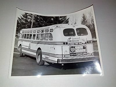 Vintage GM Bus Photo Classic Kitchener Schneiders Sizzlers