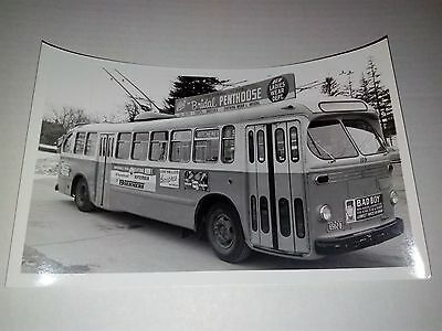 Vintage GM Bus Photo Classic Kitchener Badboy CKCO Boehmers Beaupres