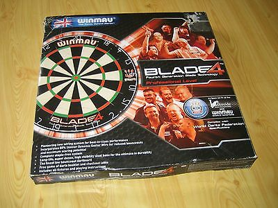 Winmau Blade 4 Professional Level Tournament Dart Board as seen at The Lakeside