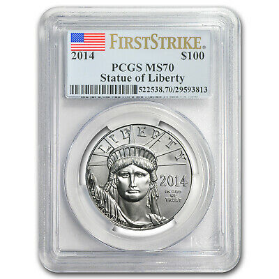 2014 1 oz Platinum American Eagle MS-70 PCGS (First Strike) - SKU #79868