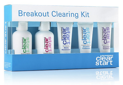 Dermalogica Clear Start Breakout Clearing Kit Authentic Acne Control Treatment