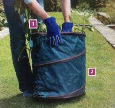 New Briers Large Size / Capacity Pop-Up Bag / Bin Home / Garden Bag
