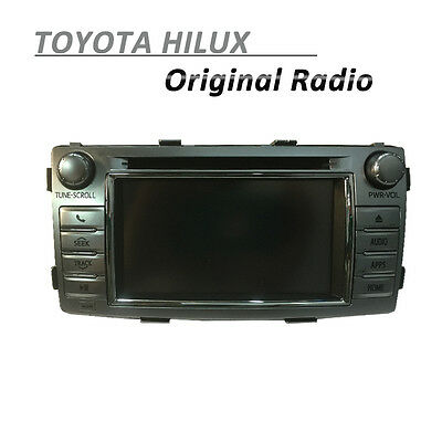 Toyota Hilux Original Radio Factory Stereo