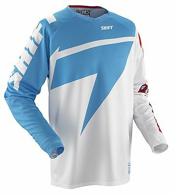 Shift MX Jersey - Reed Replica Blue/Red Motocross offroad trail enduro