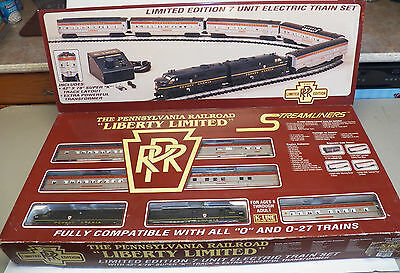 K-LINE THE PENNSYLVANIA RAILROAD 7 Unit LIBERTY LIMITED Electric Train Set NEW