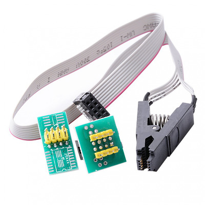 CTYRZCH SOIC8 SOP8 Flash Chip IC Test Clips Socket Adpter Programmer BIOS/24/25/
