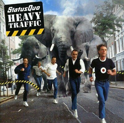 Status Quo - Heavy Traffic - Status Quo CD 60VG The Cheap Fast Free Post The