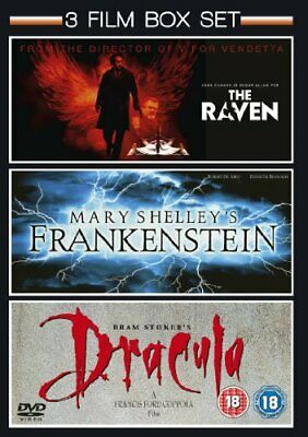 Mary Shelley's Frankenstein (1994) / The Raven (2011) / Bram Stok... - DVD  WYVG