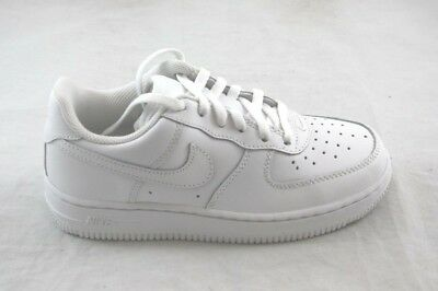 015b67aecff NEW NIKE FORCE 1 (Ps) 314193-117 White white white Low Top Youth ...