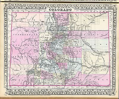 141 maps COLORADO state PANORAMIC genealogy old HISTORY teaching aid atlas DVD