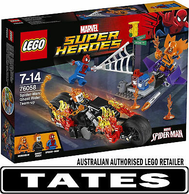 LEGO 76058 SPIDERMAN GHOST RIDER TEAM-UP MARVEL SUPER HEROES from Tates Toyworld