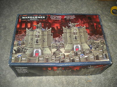 Warhammer 40k: Imperial Strongpoint Terrain box set: On Sprues