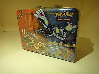 Pokemon Collector Chest Tin - 5 Pokemon TCG Booster Packs 3 Holo Cards (2014)