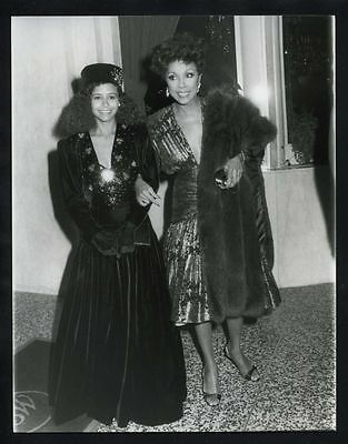 1985 TROY BEYER & DIAHANN CARROLL Vintage Original Photo DYNASTY gp