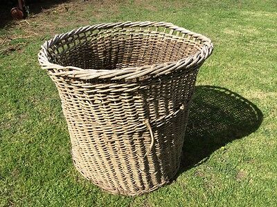 Vintage Shearing Shed/ Wool Basket