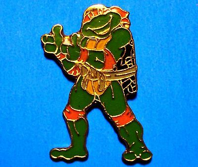 Teenage Mutant Ninja Turtles - Michelangelo - Two Thumbs Up -  Vintage Lapel Pin